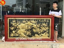 Tranh vinh hoa phú quý mạ vàng 24k – Kiệt tác tranh đồng mỹ nghệ đáng mua nhất 2019 (2)